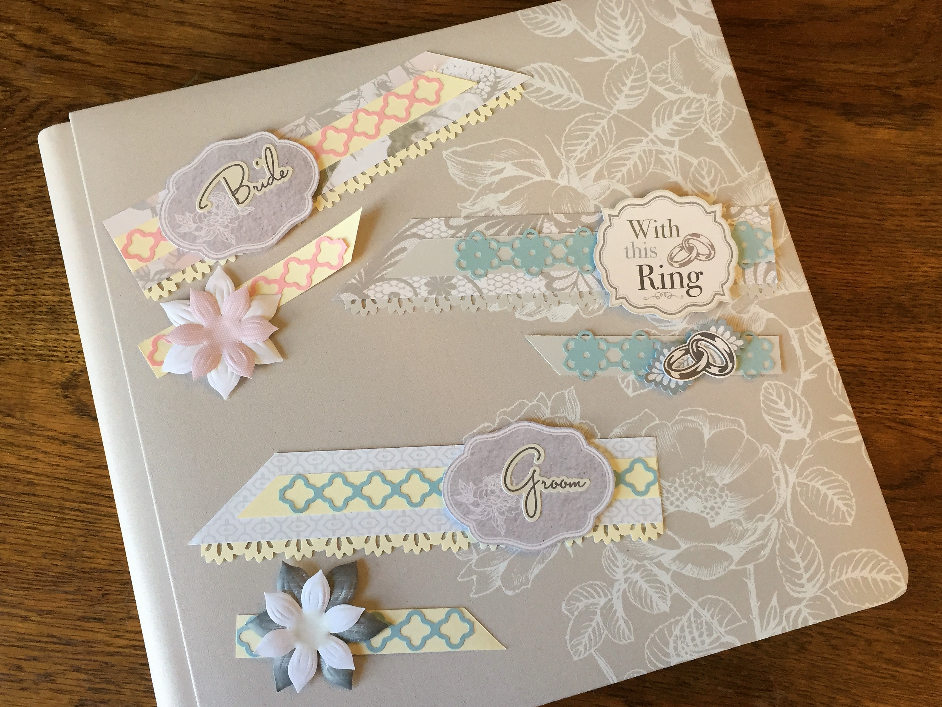 Wedding Title Scrapbook Border Ideas – Creative Memories Blog