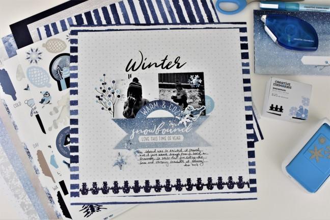 Glacier-Collection-Layout-Creative-Memories
