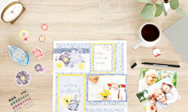 8-Simple-Steps-to-a-Spring-Scrapbook-Layout-by-Creative-Memories 2