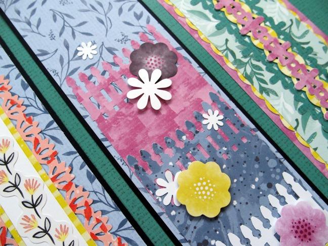 Spring Scrapbook Borders In Full Bloom Creative Memories Blog